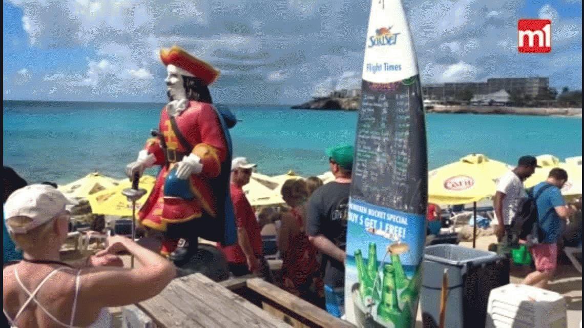 Tragedia en una playa del caribe: murió una turista por el viento de las turbinas