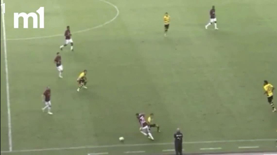 ¡Puro lujo! El ataque de habilidad de Mateo Musacchio para el Milan