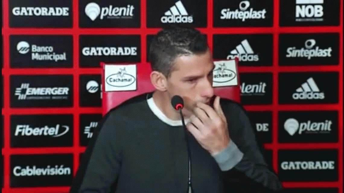 Maxi Rodríguez anunció que se va de Newells