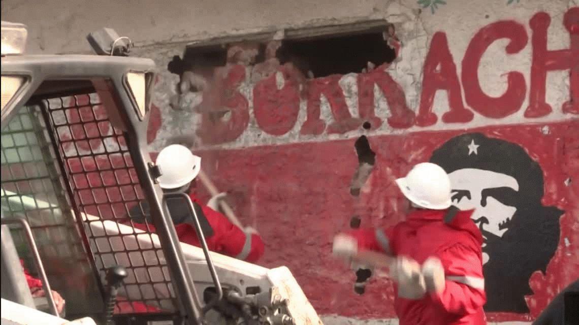 VIDEO: Así derribaron un búnker narco en Morón