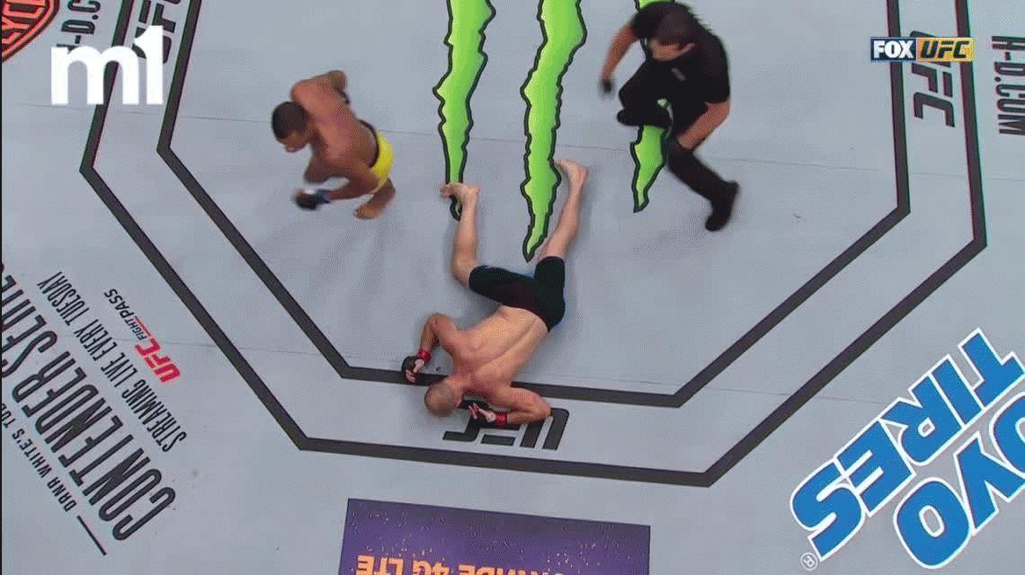 Brutal nocaut de Alex Oliveira a Ryan La Flare en la UFC: ¿el mejor del año?