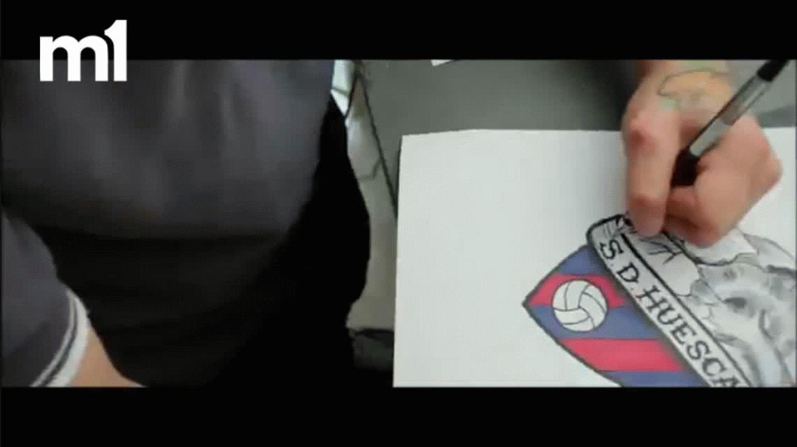 Tatuate por un abono: la insólita movida del Huesca para captar socios