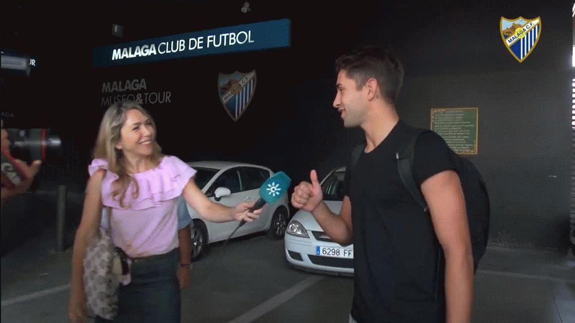 Emanuel Cecchini, una de las promesas del fútbol argentino, arregló su llegada al Málaga