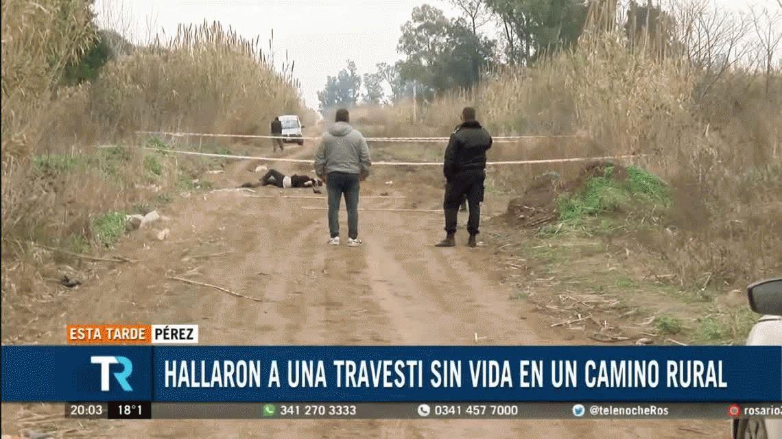 Hallan muerta de cinco tiros a una travesti en Rosario