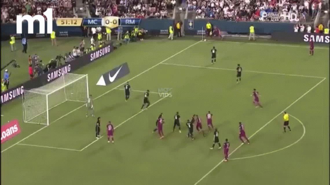Real Madrid fue humillado por el Manchester City con un gol de Nicolás Otamendi