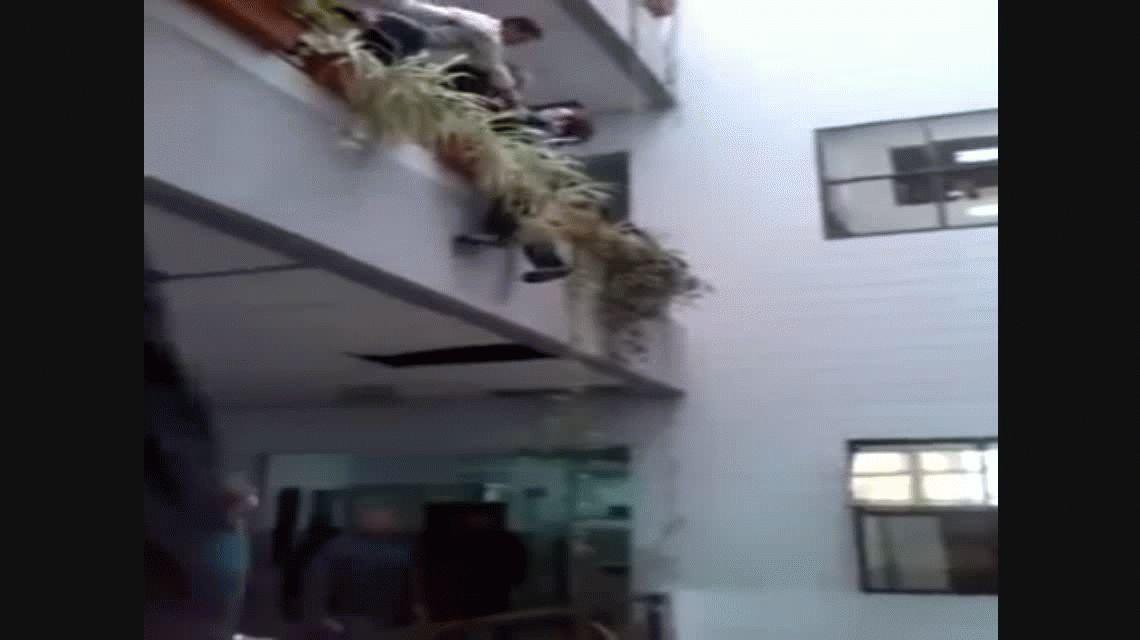 Un hombre quiso matarse por segunda vez en la Municipalidad de Quilmes