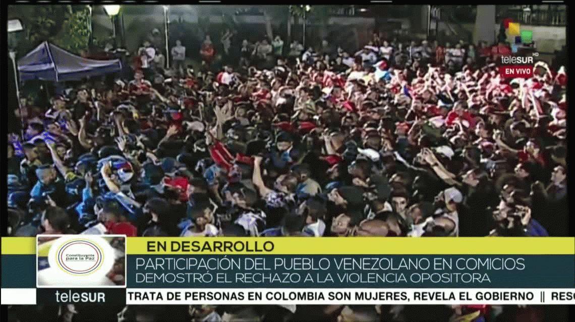 Asamblea Constituyente de Venezuela: para el gobierno votó el 41,53% del padrón