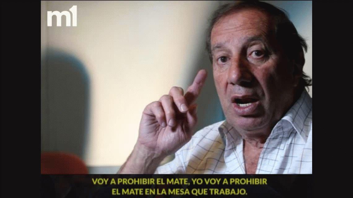 El impresentable pedido sexual de Carlos Bilardo a un compañero al aire