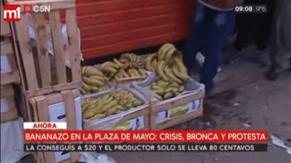 El relato de la mujer que compra bolsas de fruta picada