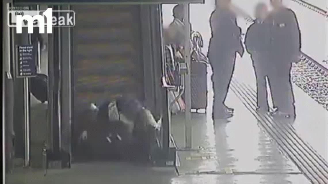 VIDEO: Mirá los mejores bloopers en escaleras mecánicas