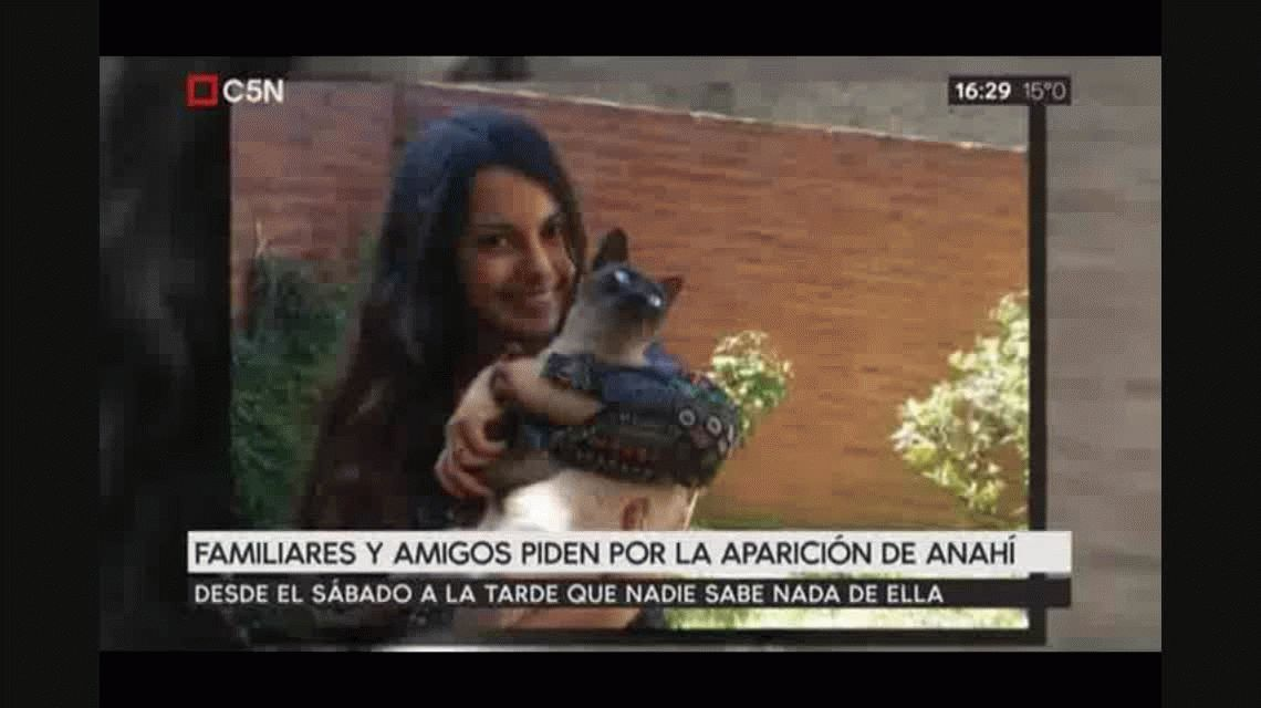 Desesperada búsqueda de Anahí: ofrecen $500 mil de recompensa
