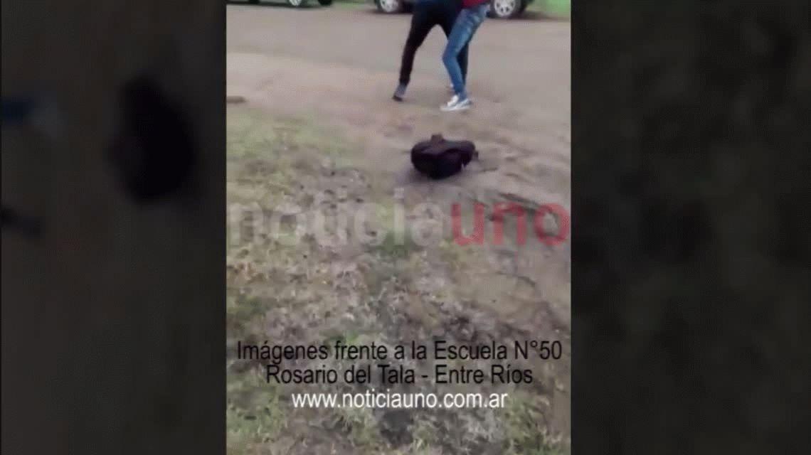 VIDEO: Brutal golpiza a un chico de 15 años que sufre epilepsia