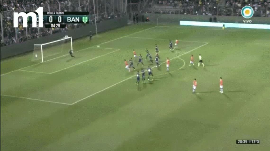 Boca venció a Banfield por penales gracias a una genialidad de Cardona