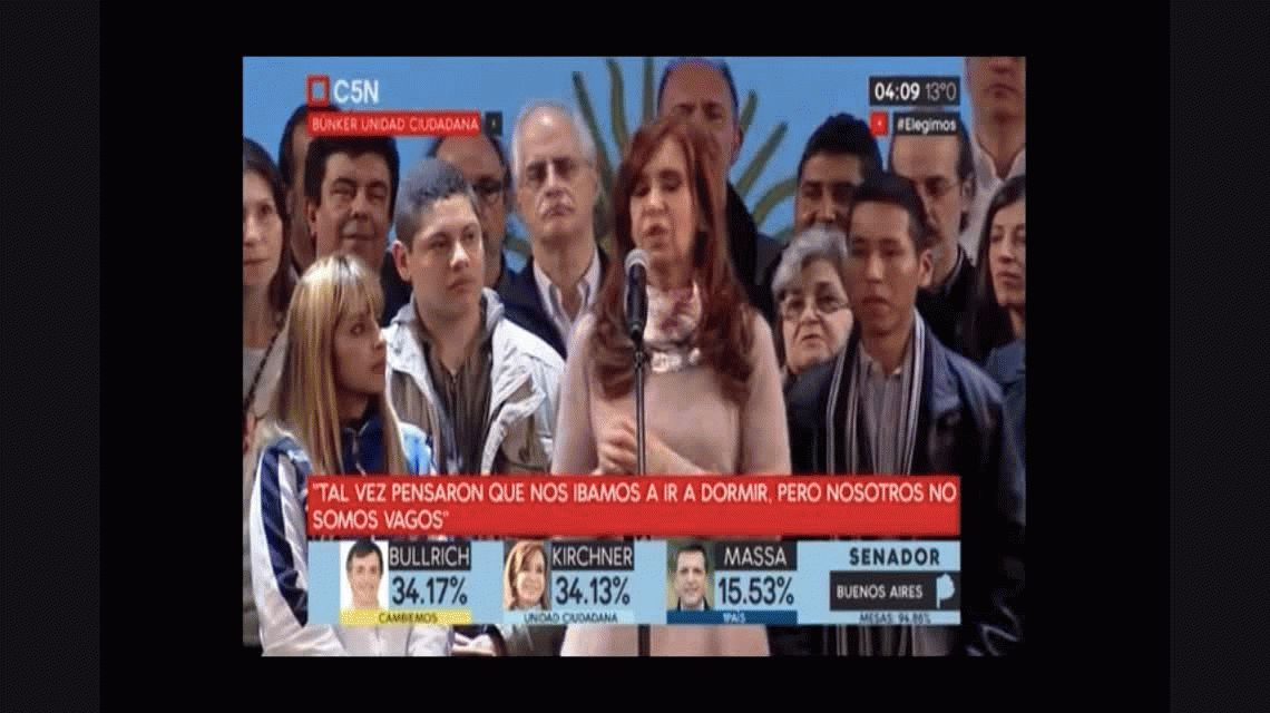 Cristina: Este domingo, Santiago Maldonado debió haber podido votar