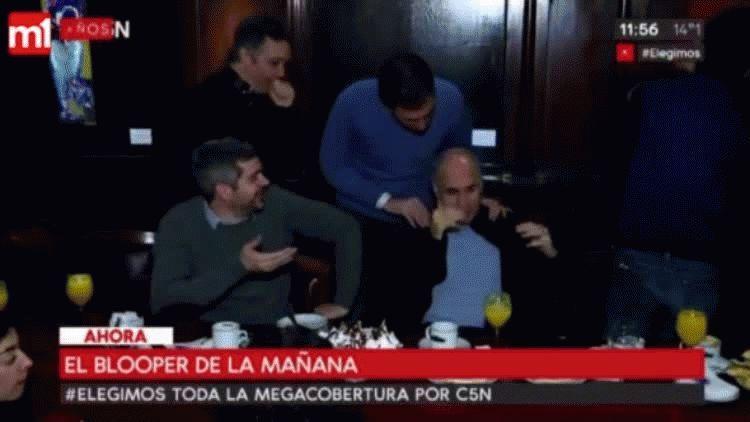 Así fue el blooper de Rodríguez Larreta antes de votar en las PASO