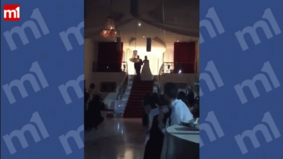VIDEO: Se cayó por las escaleras en su fiesta de 15 y se viralizó