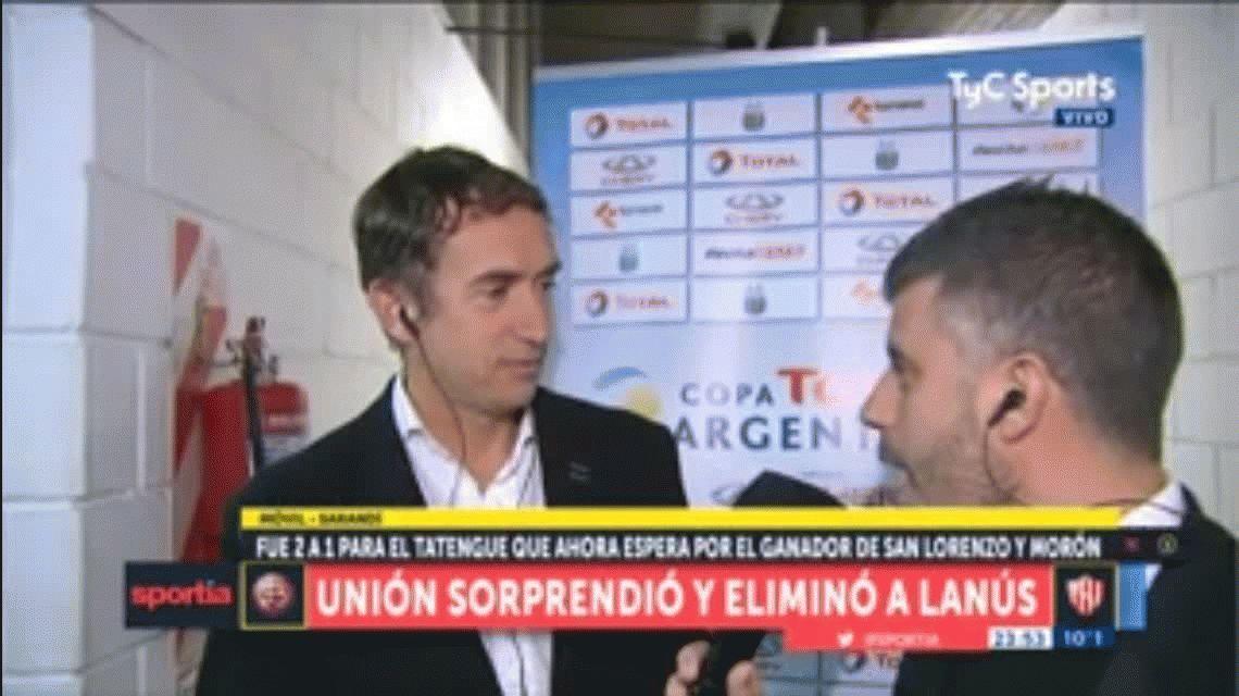 Lautaro Acosta le pidió a Beligoy que se retire: la respuesta