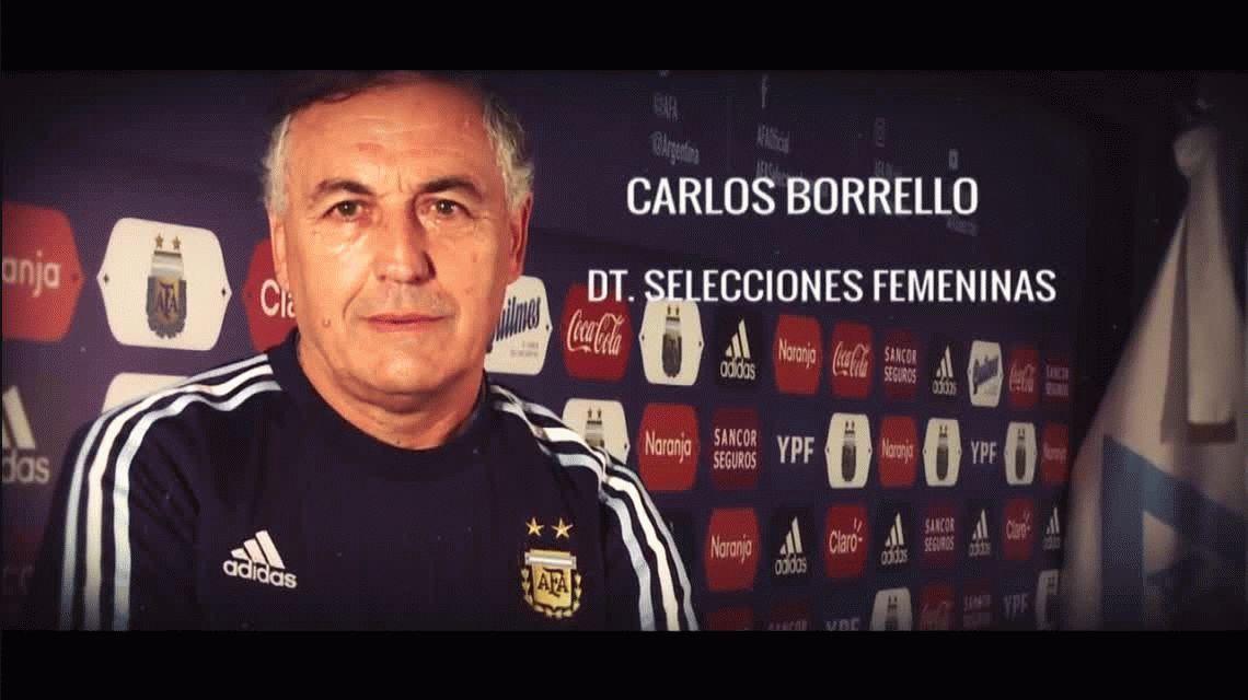Carlos Borrello, el hombre detrás de la reconstrucción del fútbol femenino argentino