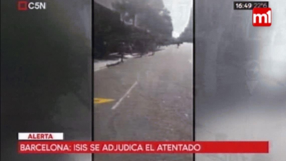 El relato de un argentino en Barcelona: Fue un desastre, parecía una película