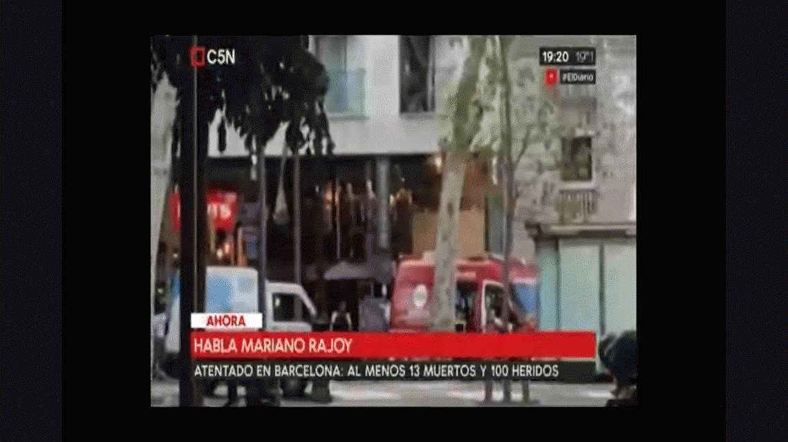 Tras el atentado, Mariano Rajoy decretó tres días de duelo en España