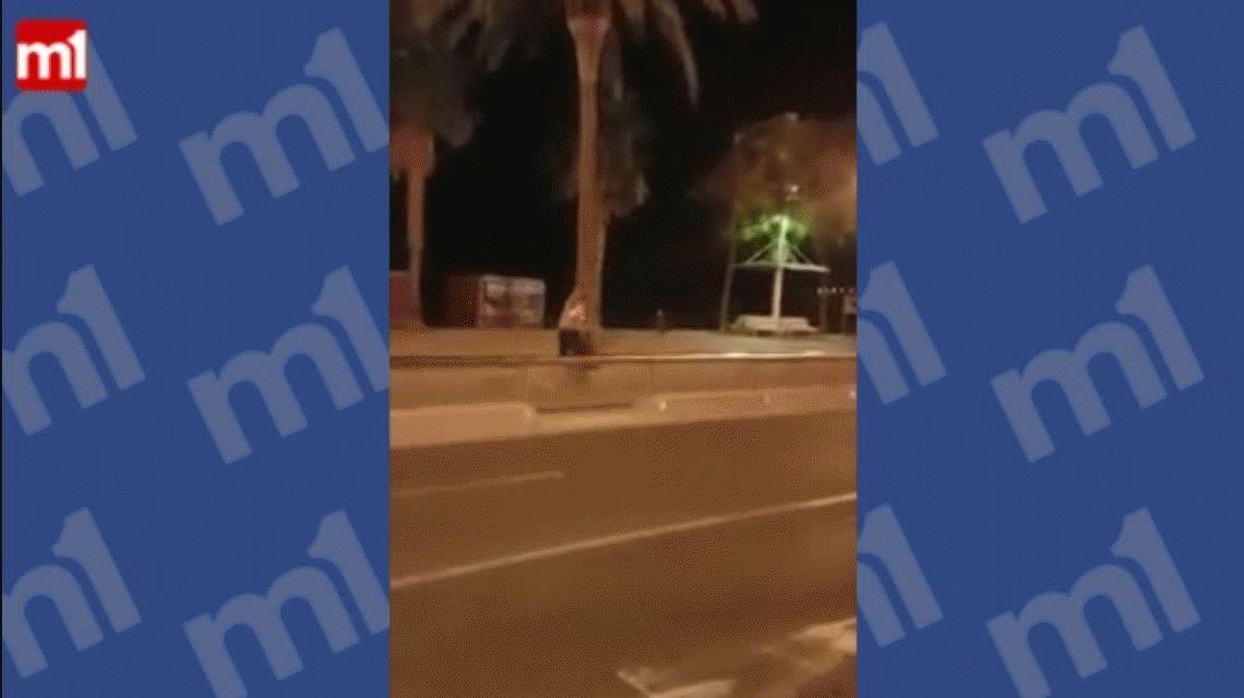 VIDEO: Así abatieron a uno de los terroristas del ataque a Barcelona