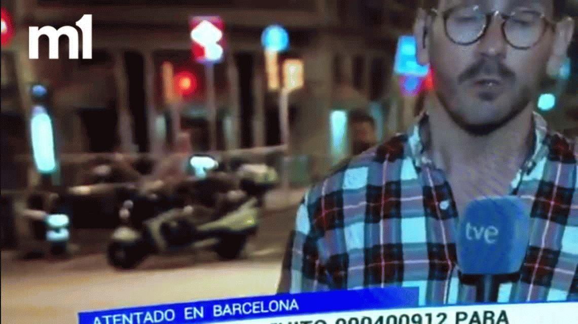 VIDEO: El héroe que se viralizó a través de redes sociales después del atentado