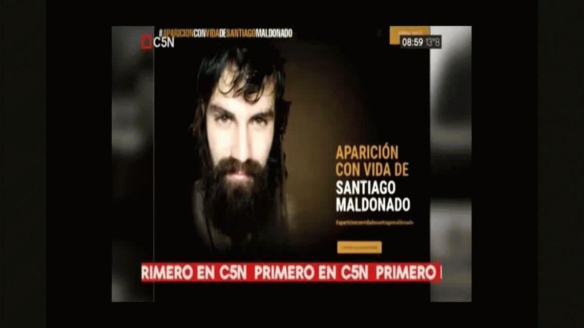 El celular de Santiago Maldonado se activó en Chile