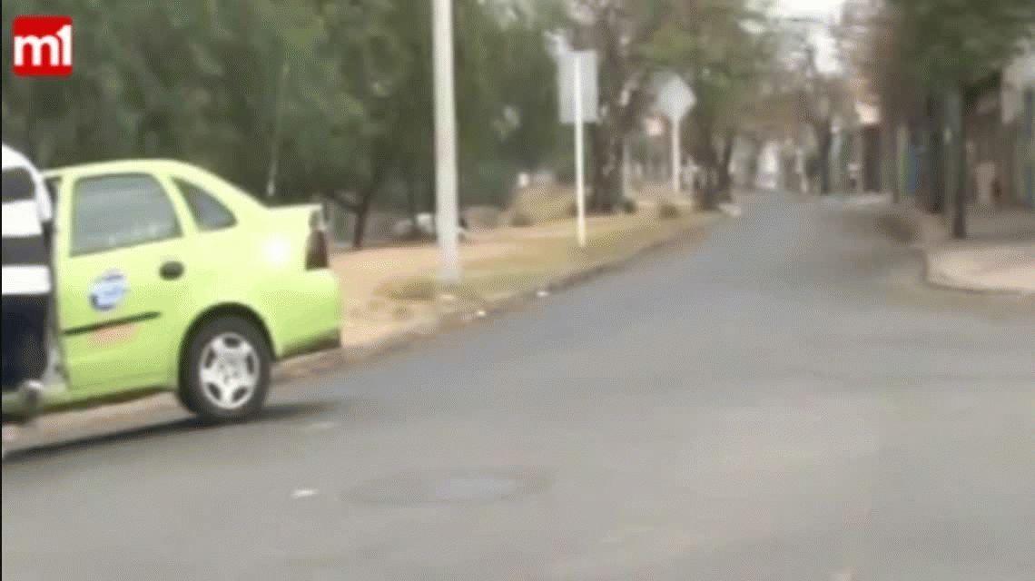 VIDEO: Estaban grabando un informe sobre inseguridad y robaron en vivo
