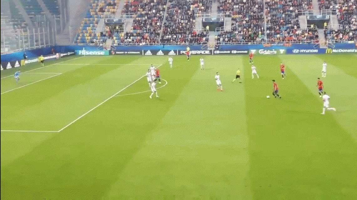 El gol de Mandzukic al Real Madrid fue elegido como el mejor de la última temporada en Europa