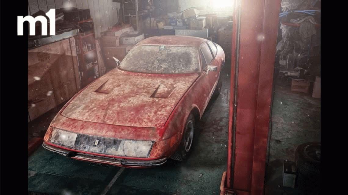 Encuentran abandonada en Japón una Ferrari de 2 millones de dólares