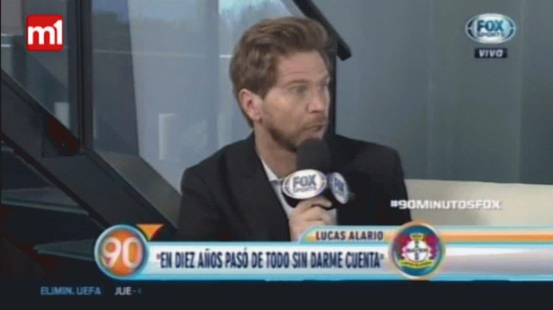 Alario habló sobre la polémica foto con la camiseta del Bayer: Se me fue de las manos