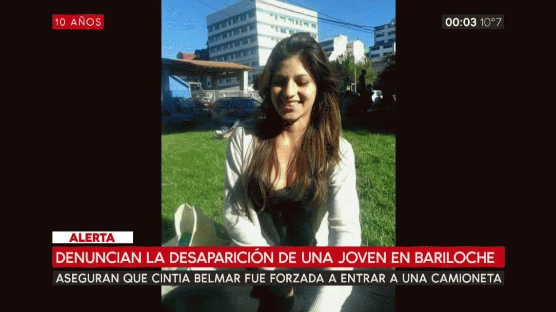 Denuncian el secuestro de una chica de 22 años en Bariloche