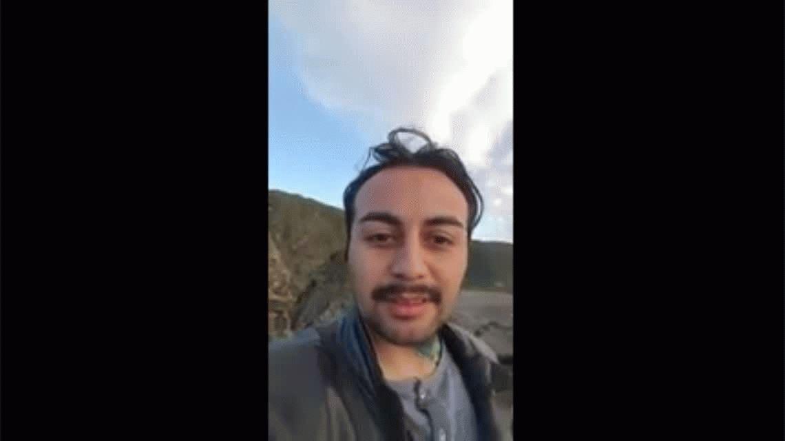 Nuevas fotos y video de Santiago Maldonado antes de la represión de Gendarmería