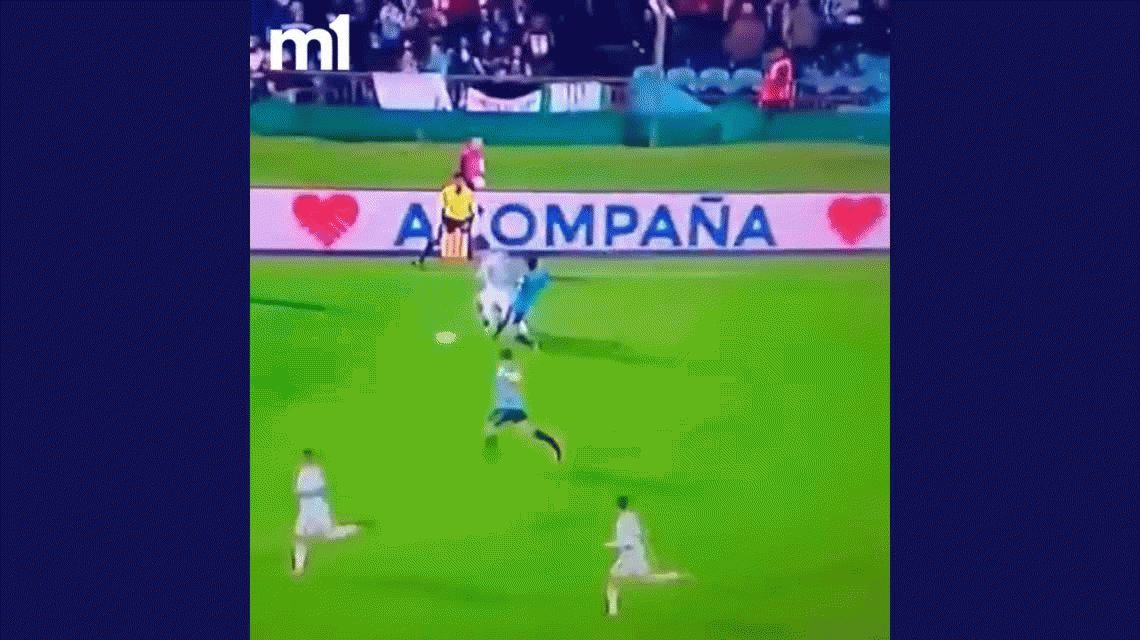 No lo pueden parar: el Cebolla Rodríguez le rompió la camiseta a Messi