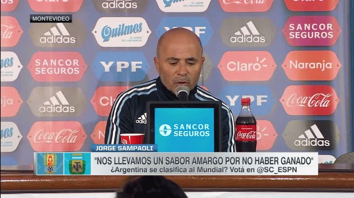 Sampaoli pidió el apoyo de los 40 millones de argentinos para ir al Mundial
