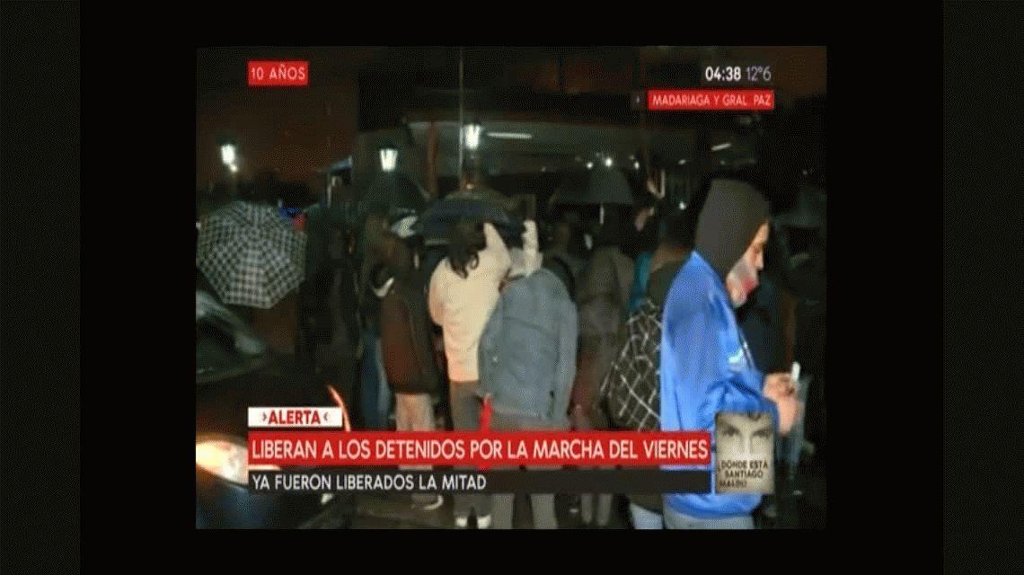 Nos preguntaron si queríamos ser el próximo Santiago, denunció un detenido