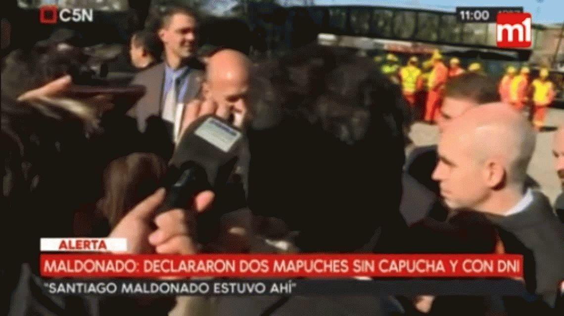 Macri, sobre Santiago Maldonado: Veo las novedades todos los días, otra cosa no se puede hacer