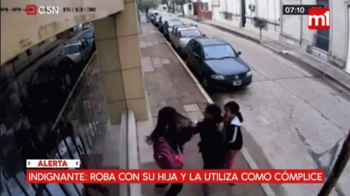 Indignación en Cocepción del Uruguay por un delincuente que roba con su hija