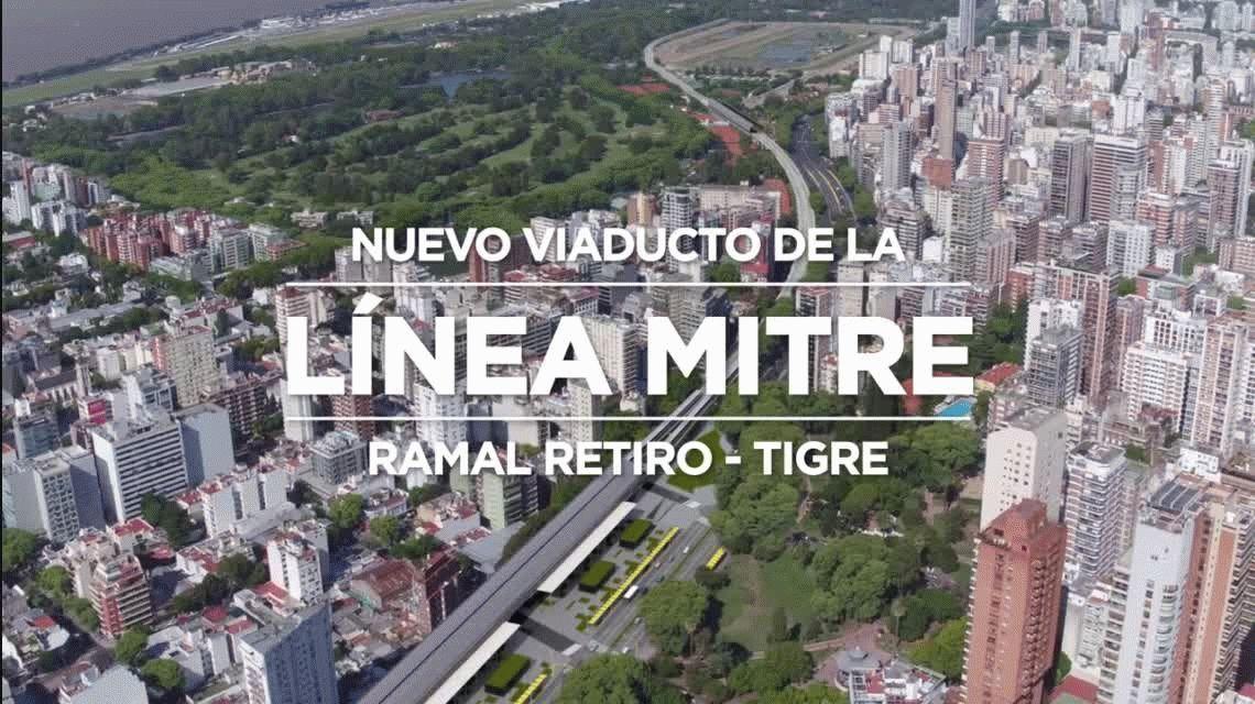 Línea Mitre: ¿cómo es la obra para eliminar barreras en Belgrano, Núñez y Palermo?