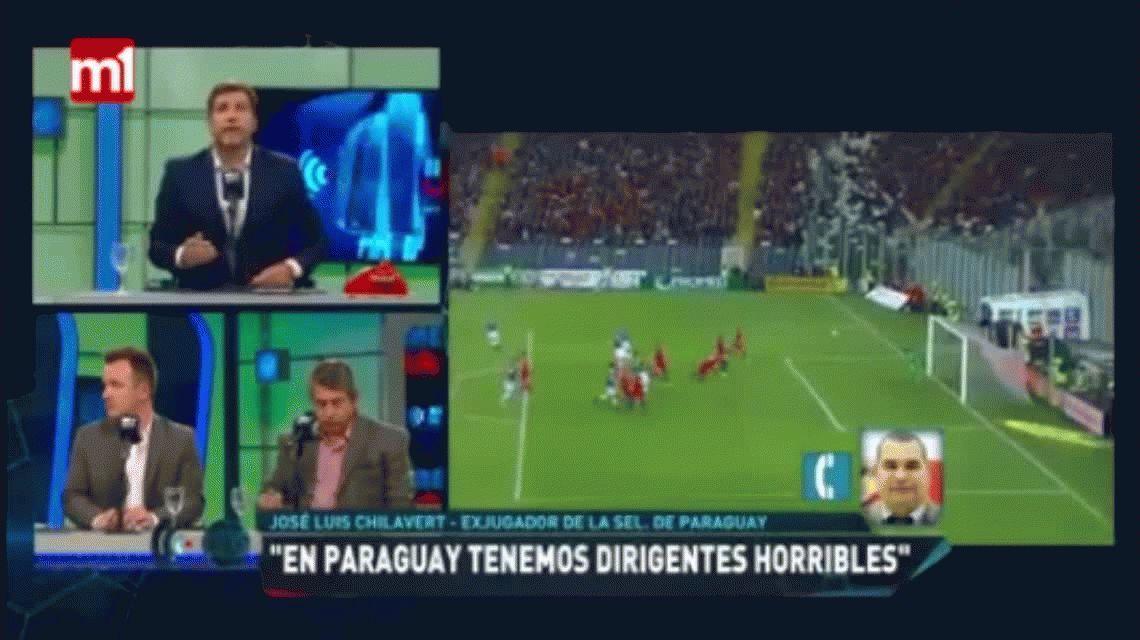 Chilavert a los jugadores de la Selección argentina: Tienen miedo