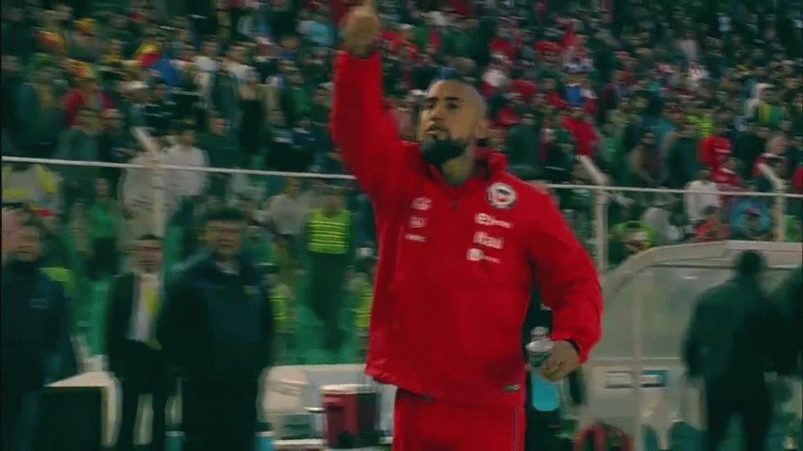 Arde Chile: Arturo Vidal invitó a pelear a hinchas y anunció que deja La Roja