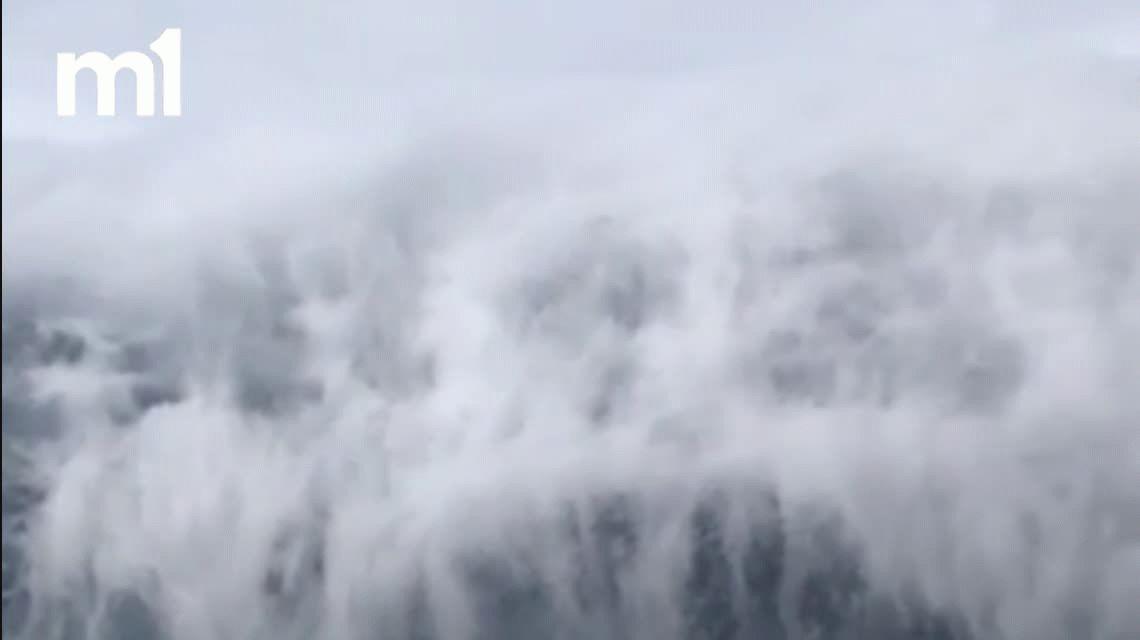 VIDEO: Mirá las terroríficas nubes que aparecieron en el cielo de Georgia