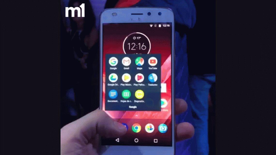 Moto Z2 Play, la nueva versión del alta gama más vendido del país