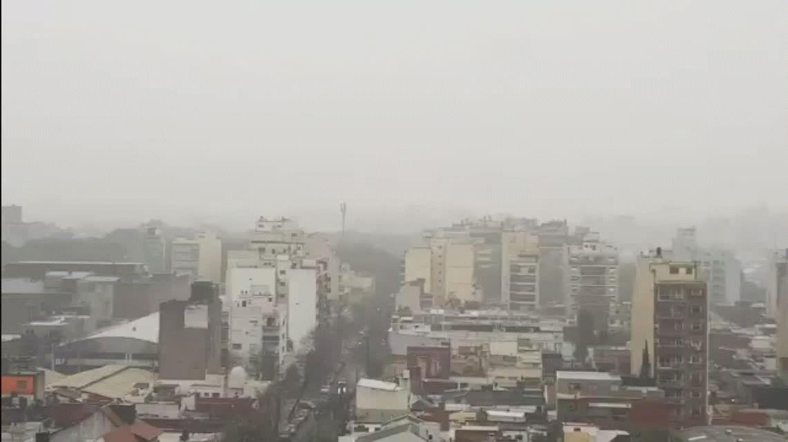 Alerta por tormentas fuertes, precipitaciones y vientos intensos en la Ciudad