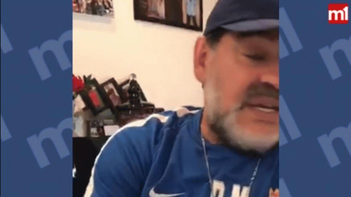 Diego Maradona comparó a Icardi con Alario y Benedetto y no tuvo filtro