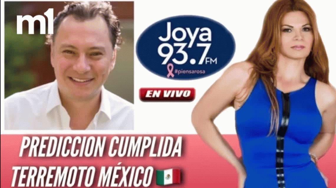 La vidente que predijo el sismo de México revela otra catástrofe