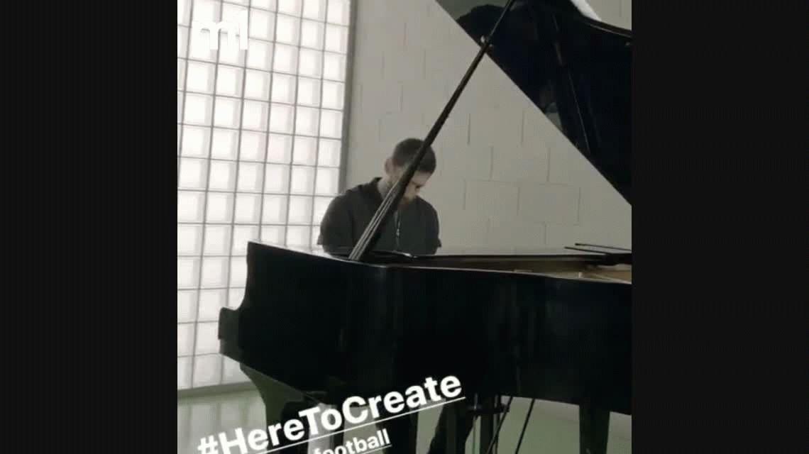 Lionel Messi sorprendió con su nuevo talento: tocó el himno de la Champions en piano