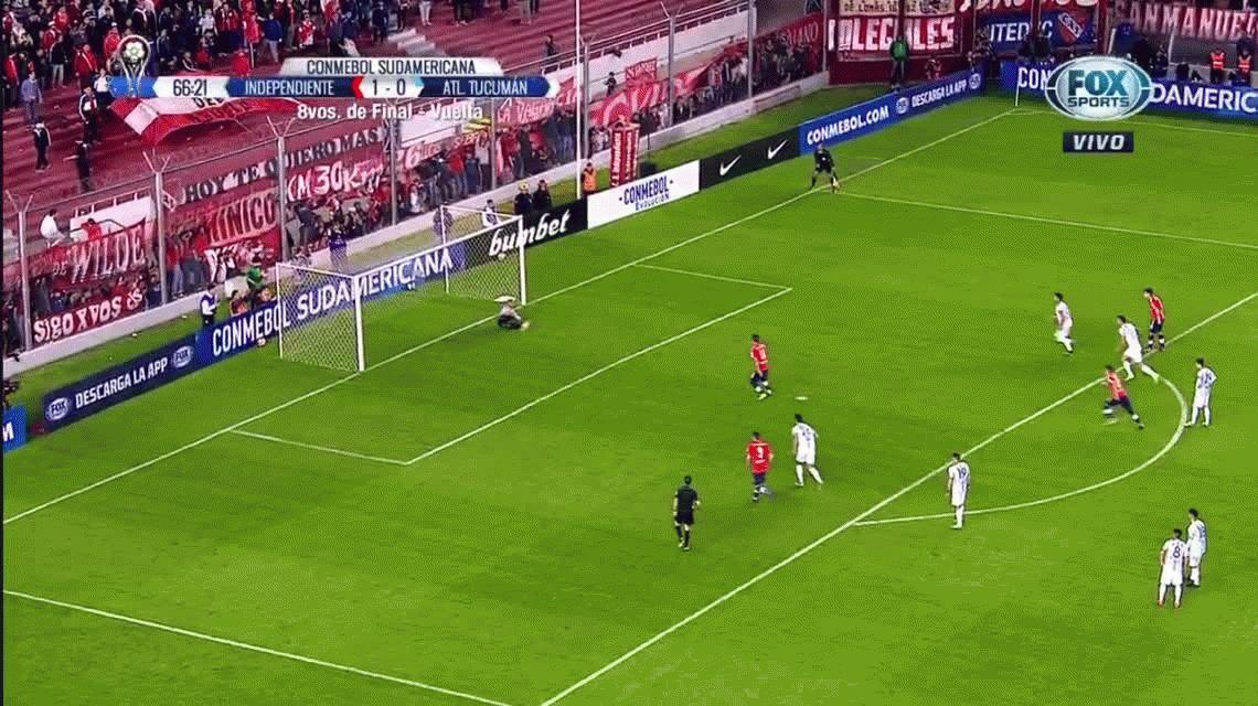 VIDEOS Los penales errados de Independiente y Atlético Tucumán
