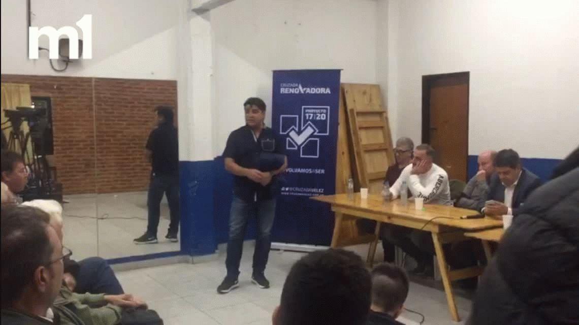 Raúl Pacha Cardozo, lapidario con la dirigencia actual de Vélez: Es una dictadura
