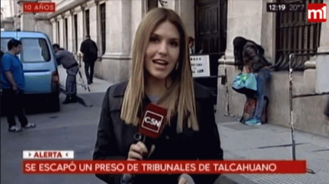 Se escapó un preso de los tribunales de Talcahuano